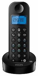 Телефон DECT PHILIPS D1251 black - черный